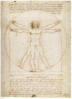 Da Vinci was obsessed with the golden ratio but not readability, all the text was written in a mirror image with 85 characters per line.