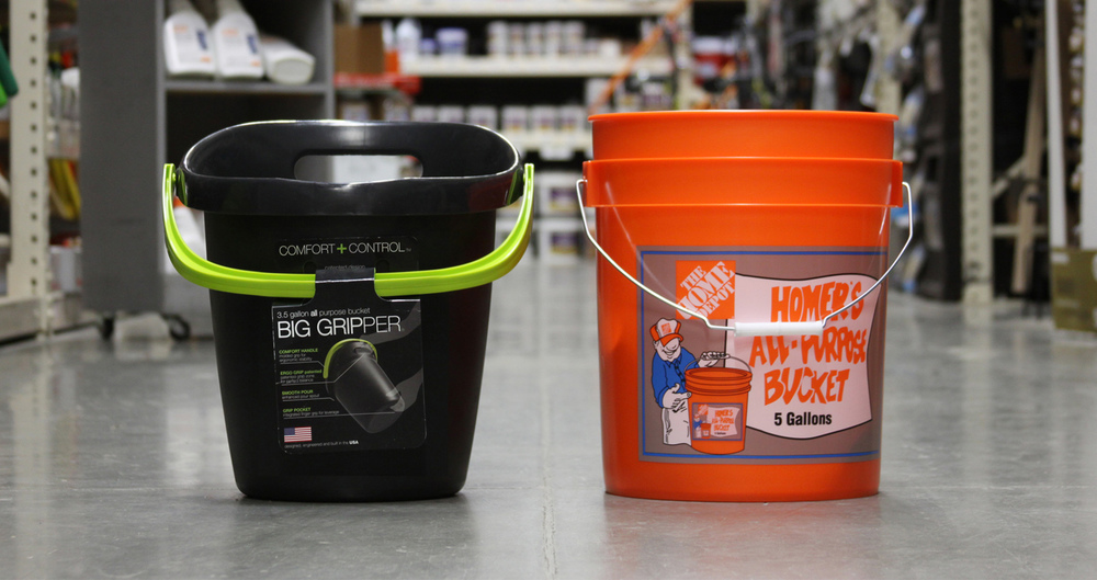 home depots new bucket shows why design matters - Home Depot Design